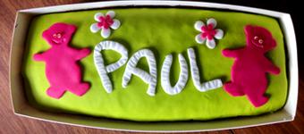Kuchen für Baby – Paul