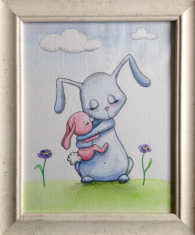 hase rabbit  illustration