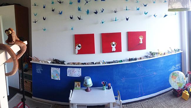 Wandgestaltung Kinderzimmer Diy : Kiddifix DIY für Kinder mit KindernKinderzimmer gestalten  DIY für