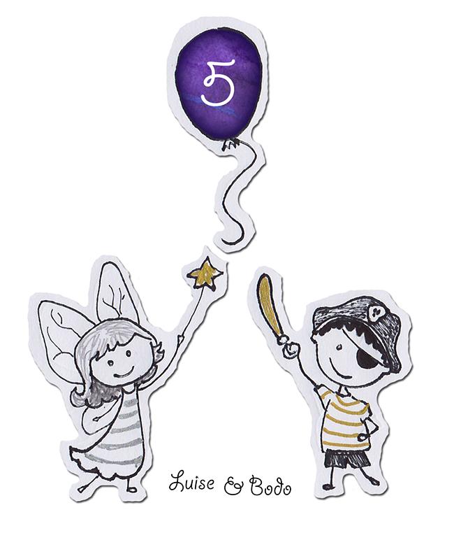 Einladungskarte Kindergeburtstag 6