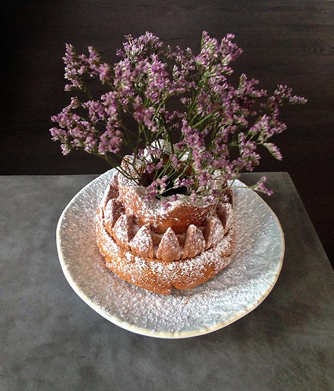 Kuchen verzieren, schneller Kuchen