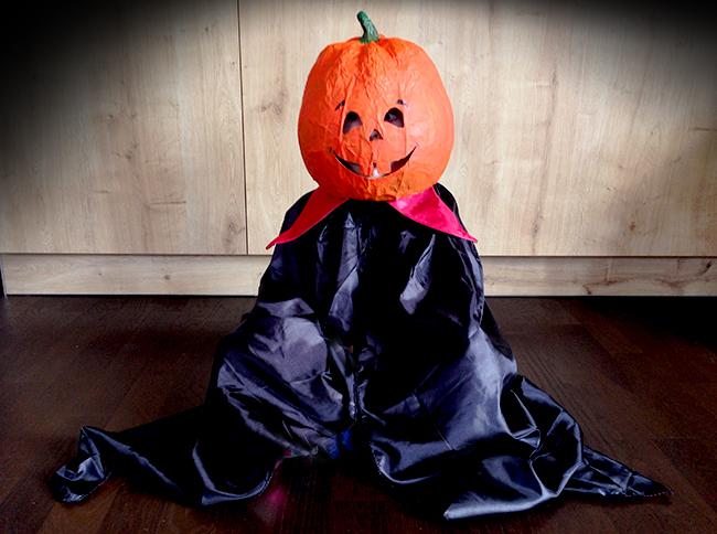 Halloween Kostüm für Kinder selbstgemacht