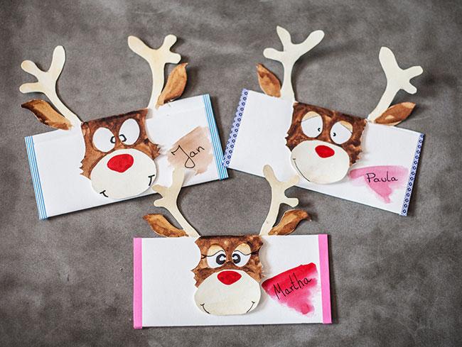 Weihnachtsgeschenke Basteln.Gutschein Basteln Für Weihnachten