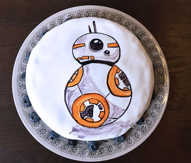 Star Wars Kuchen Bb 8 Kuchen Diy Fur Kinder Mit Kindern