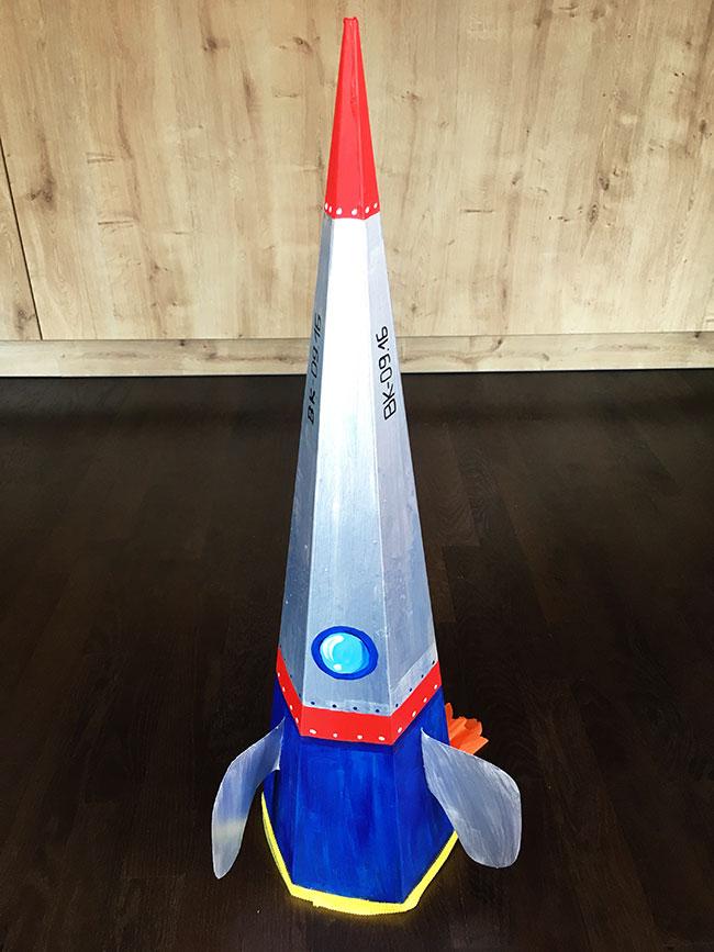 DIY Schultüte Rakete